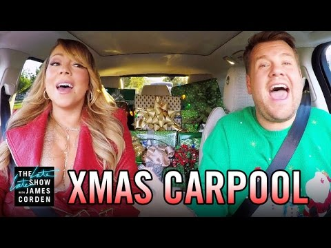 All I Want for Christmas | Mariah Carey, James Corden, et al (Carpool Karaoke)