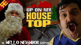 Up On My Housetop |  A Hello Neighbor Christmas Song (ft. Michael Ledoux)